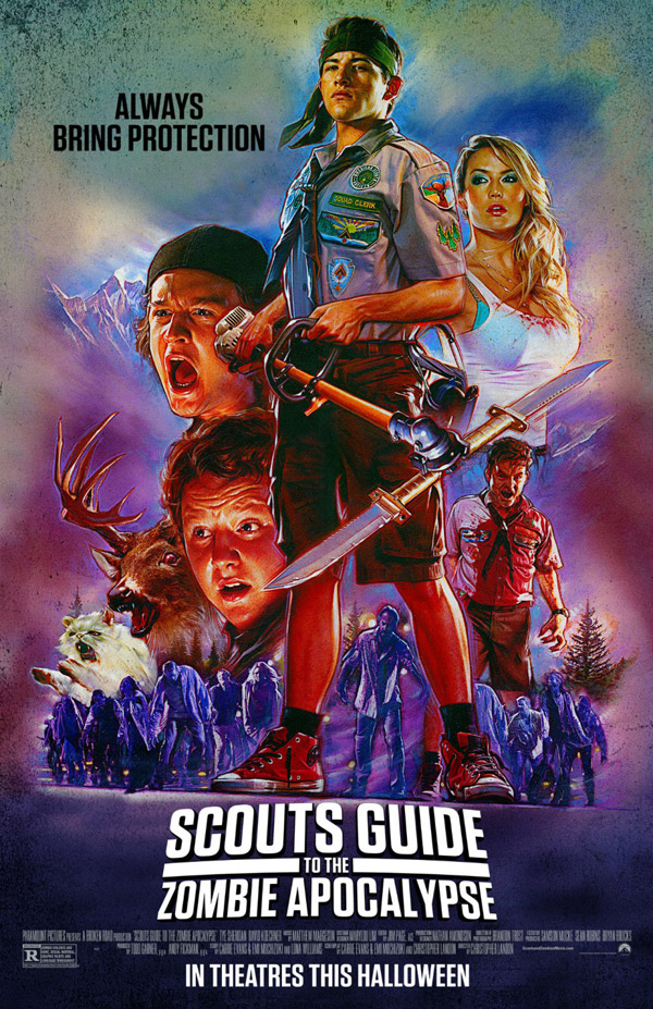 Us poster from the movie Scouts Guide to the Zombie Apocalypse