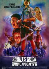 Movie poster from Scouts Guide to the Zombie Apocalypse, in theaters on October 30, 2015