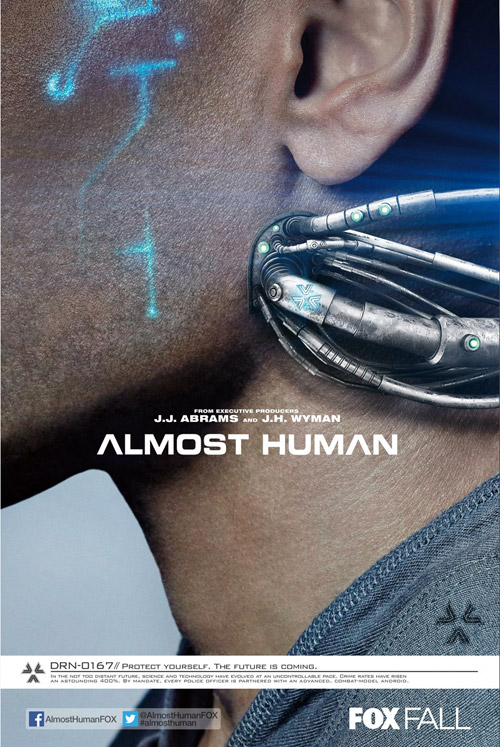 Us poster from the series Almost Human