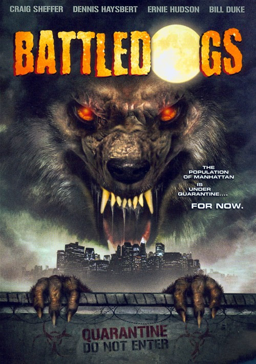 Us poster from the TV movie Battledogs