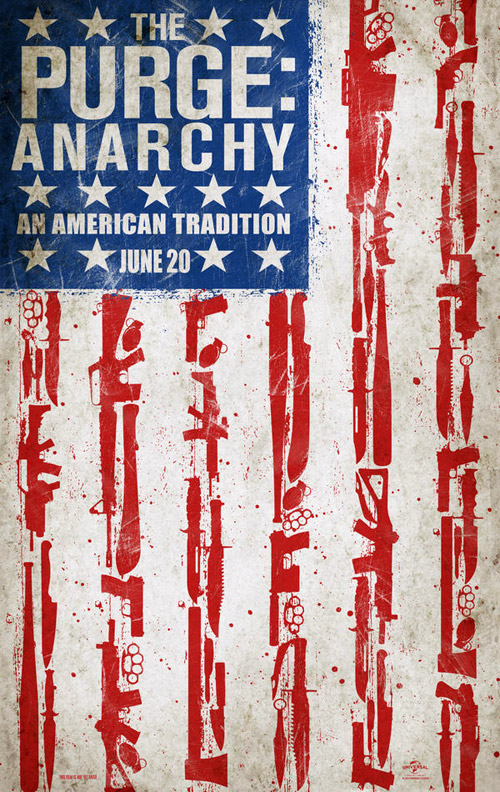 Us poster from the movie The Purge: Anarchy