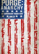 Movie poster from The Purge: Anarchy, in theaters on July 18, 2014