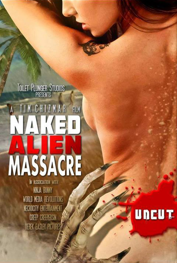 Unknown poster from the movie Naked Alien Massacre
