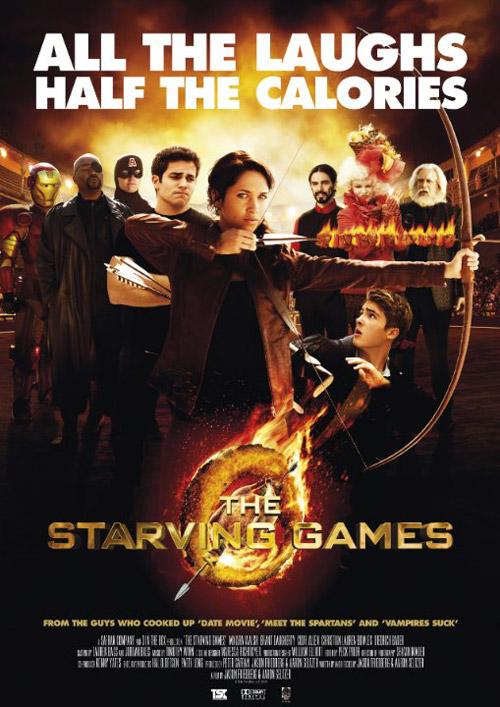 Us poster from the movie The Starving Games