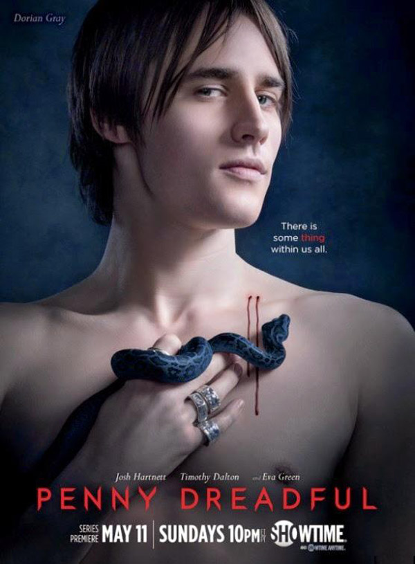 Affiche américaine de 'Penny Dreadful'