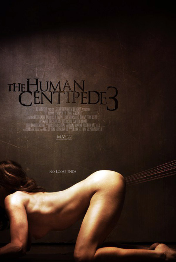 Us poster from the movie The Human Centipede III (Final Sequence)