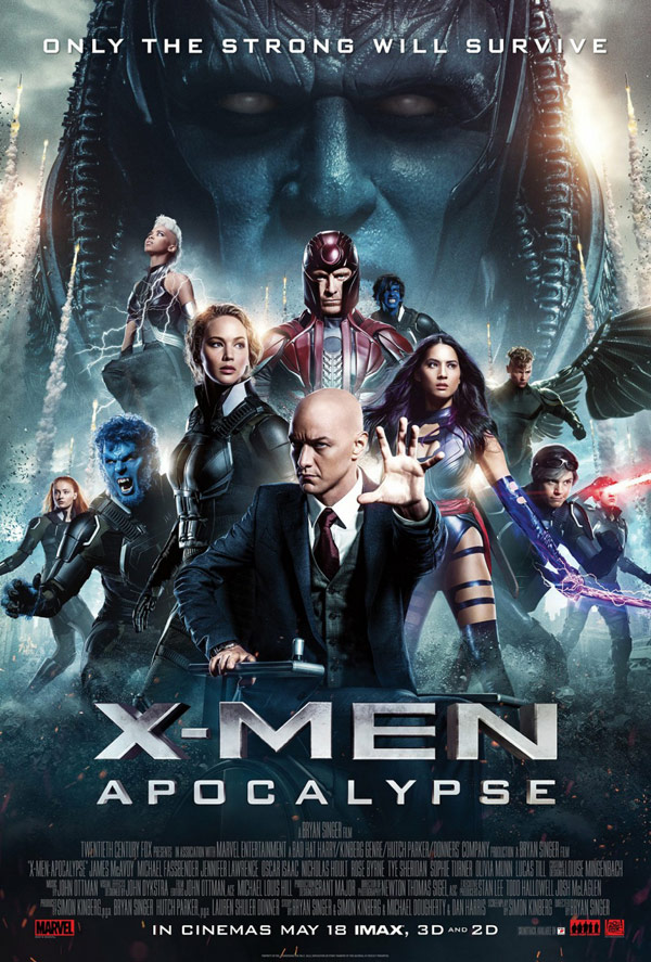 Us poster from the movie X-Men: Apocalypse