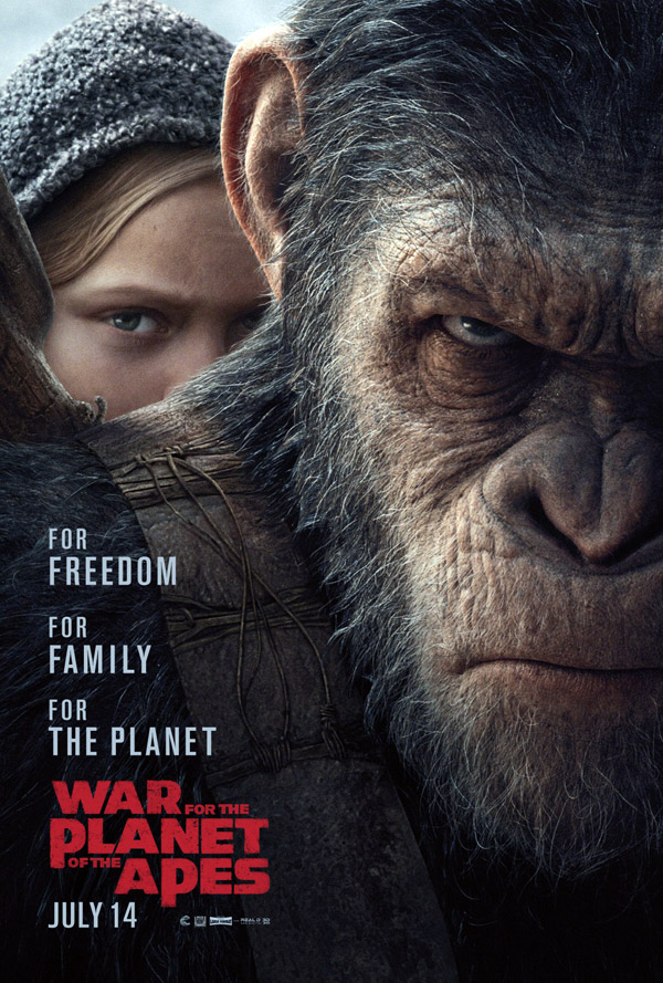 Us poster from the movie War of the Planet of the Apes