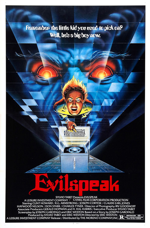 Us poster from the movie Evilspeak