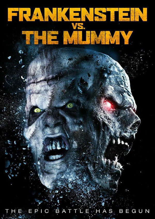 Affiche inconnue de 'Frankenstein vs. The Mummy'