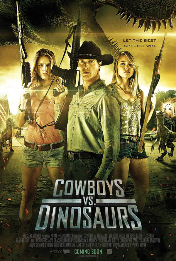 Us poster from the movie Cowboys vs Dinosaurs