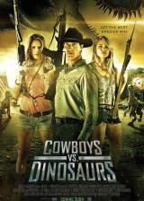 Movie poster from Cowboys vs Dinosaurs, in theaters on May 19, 2015