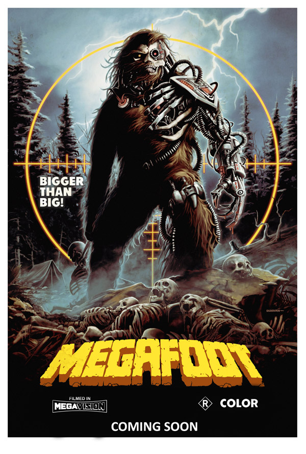 Us poster from the movie Megafoot
