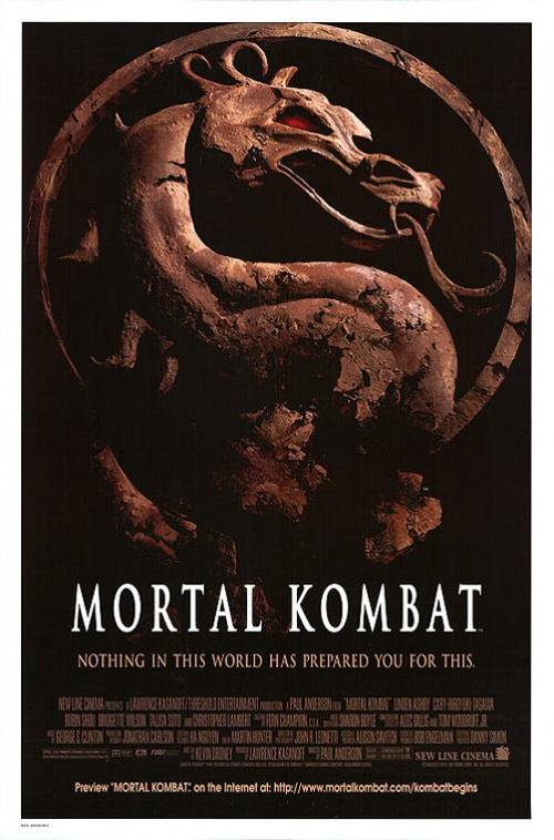 Us poster from the movie Mortal Kombat