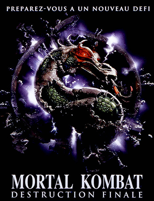 Affiche française de 'Mortal kombat, destruction finale'
