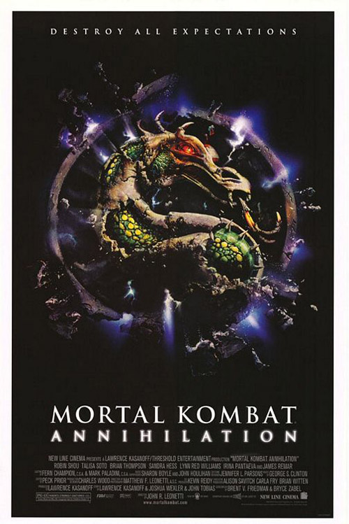 Us poster from the movie Mortal Kombat: Annihilation
