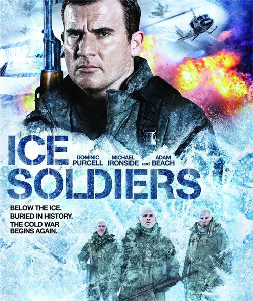 Canadian poster from the movie Ice Soldiers