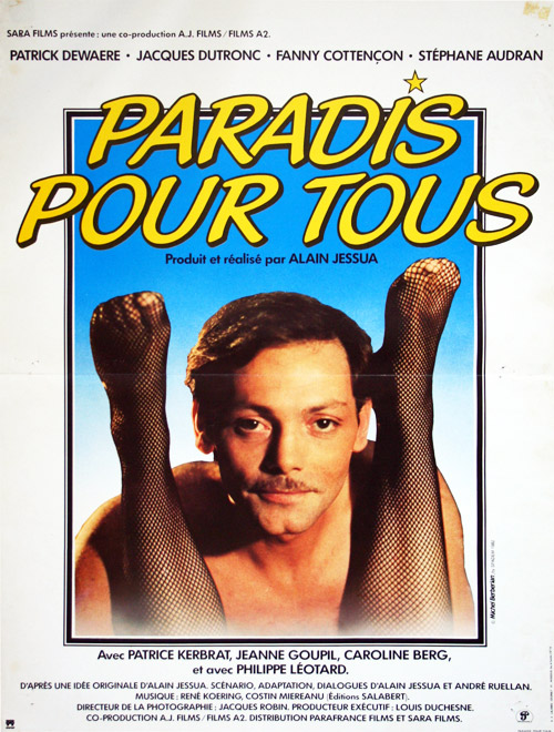French poster from the movie Paradis pour tous