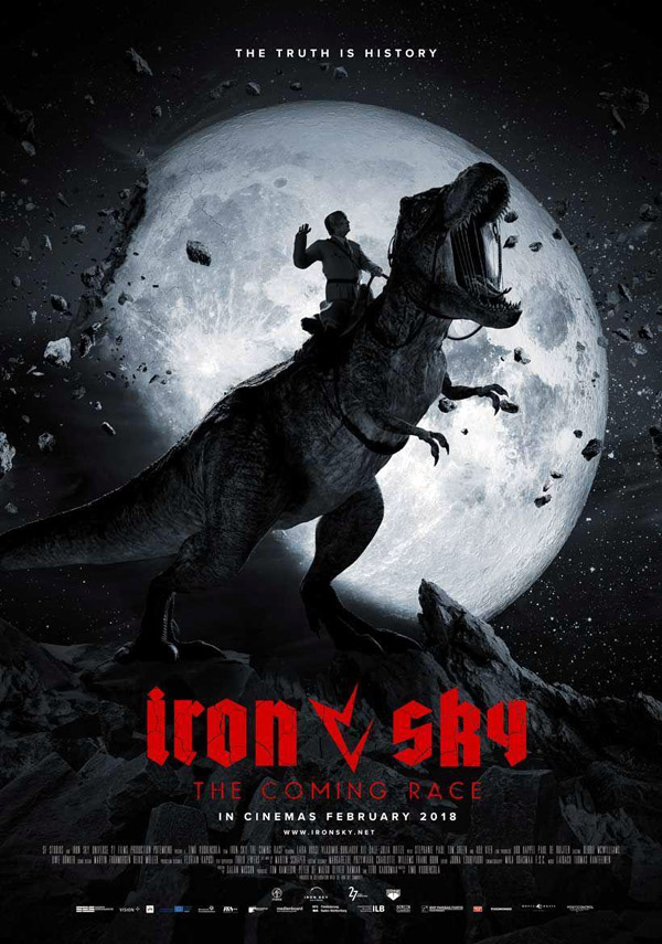 International poster from the movie Iron Sky the Coming Race  (Iron Sky the Coming Race)