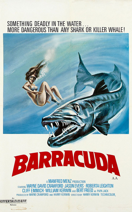 Us poster from the movie Barracuda