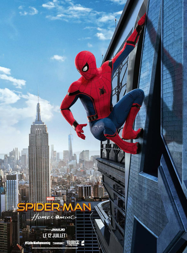 Affiche française du film Spider-Man: Homecoming