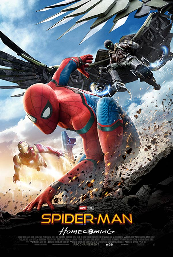 French poster from 'Spider-Man: Homecoming'