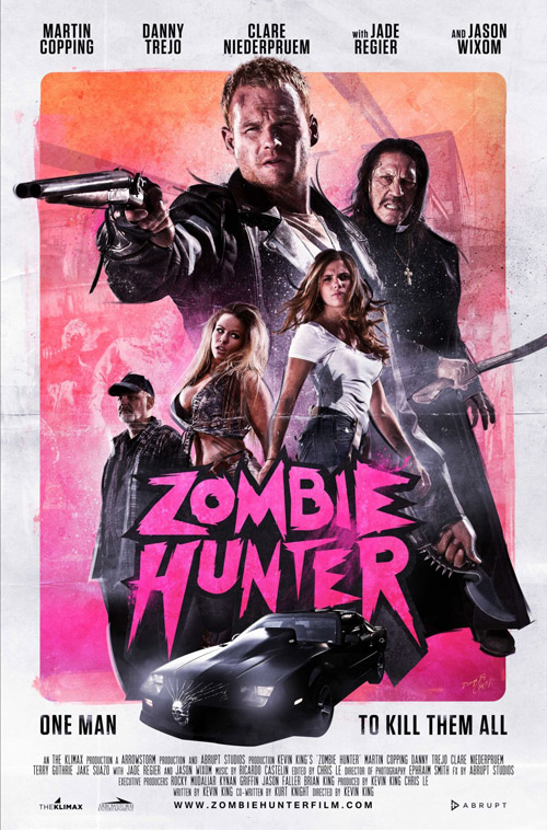 Us poster from the movie Zombie Hunter