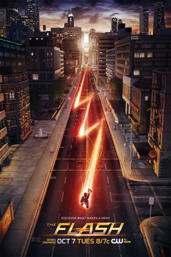 Us poster from the series The Flash