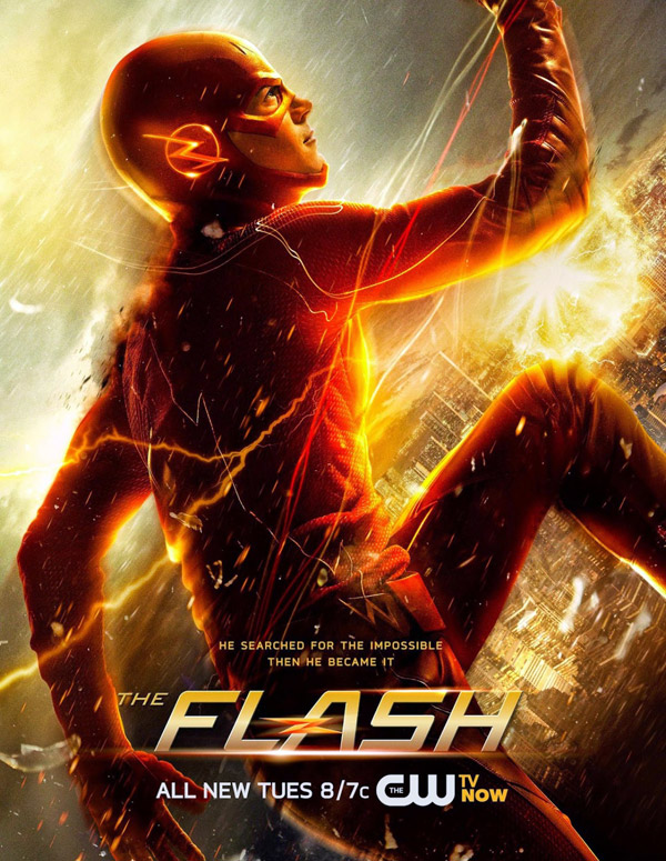 Affiche américaine de 'The Flash'