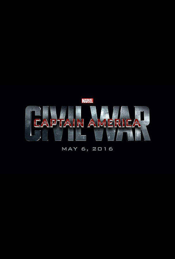 Affiche internationale de 'Captain America : Civil War'