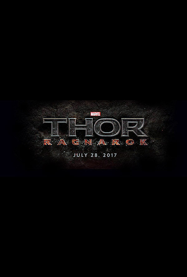 Affiche internationale de 'Thor: Ragnarok'