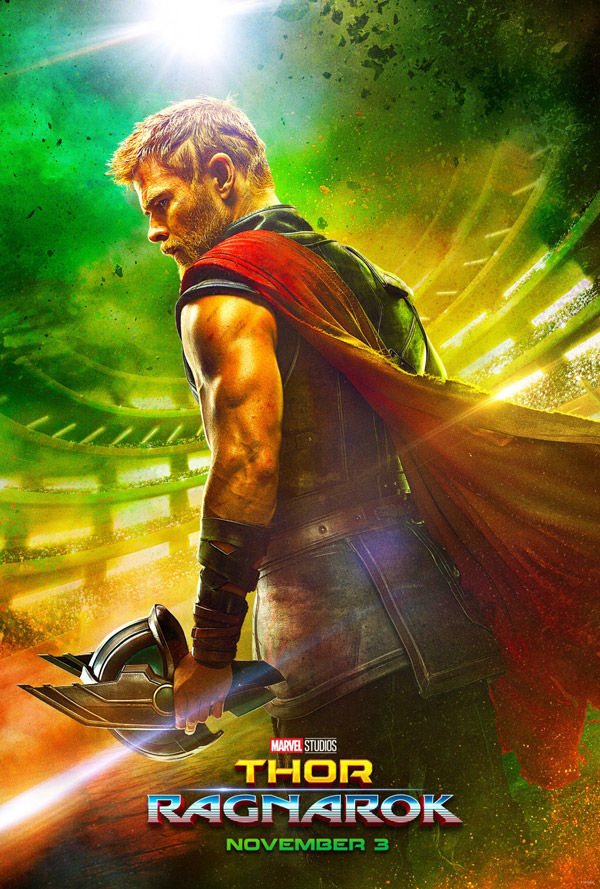 Us poster from the movie Thor: Ragnarok