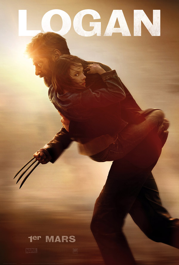 French poster from 'Logan'