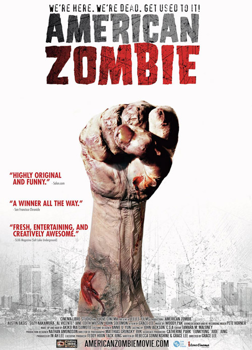 Us poster from the movie American Zombie