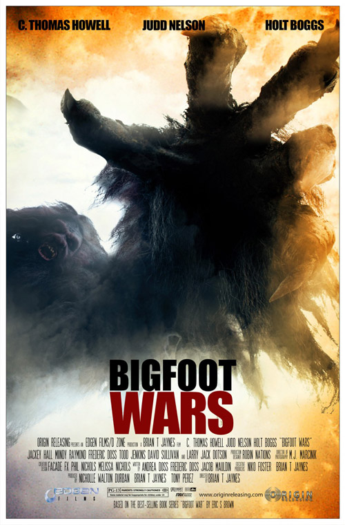 Us poster from the movie Bigfoot Wars
