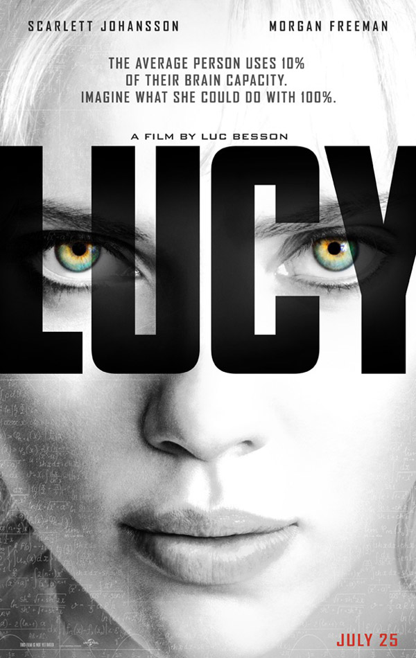 Us poster from the movie Lucy