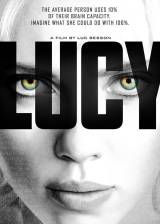Movie poster from Lucy, in theaters on July 25, 2014