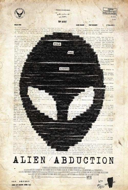 Us poster from the movie Alien Abduction