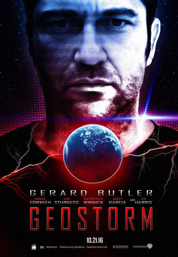 Us poster from the movie Geostorm