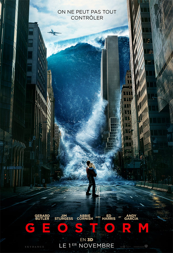 French poster from 'Geostorm'