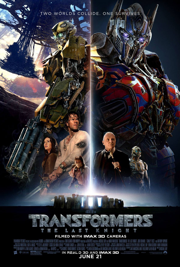 Us poster from the movie Transformers: The Last Knight
