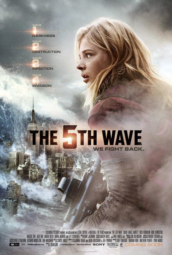 Us poster from the movie The 5th Wave