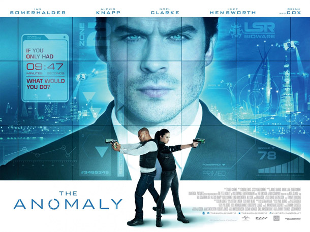 British poster from the movie The Anomaly