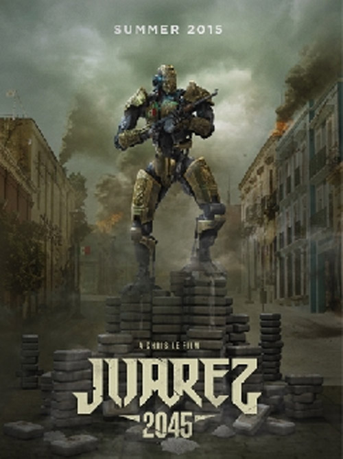 Unknown poster from the movie Juarez 2045