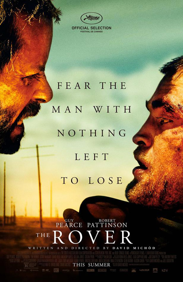 Us poster from the movie The Rover