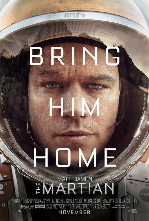 Us poster from the movie The Martian