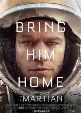 Movie poster from The Martian, in theaters on October 02, 2015