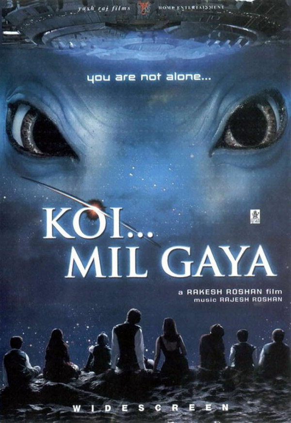 Unknown artwork from the movie Koi... Mil Gaya