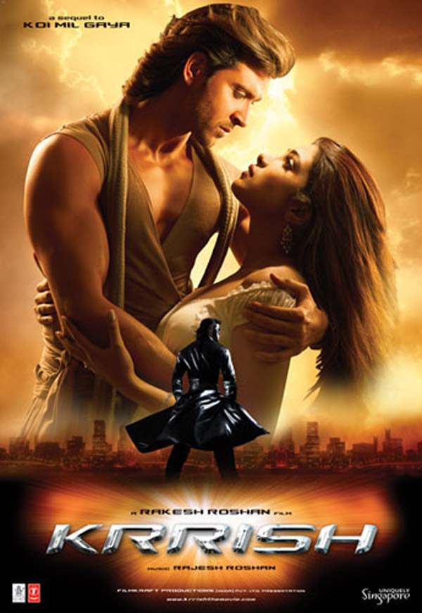 Unknown poster from the movie Krrish