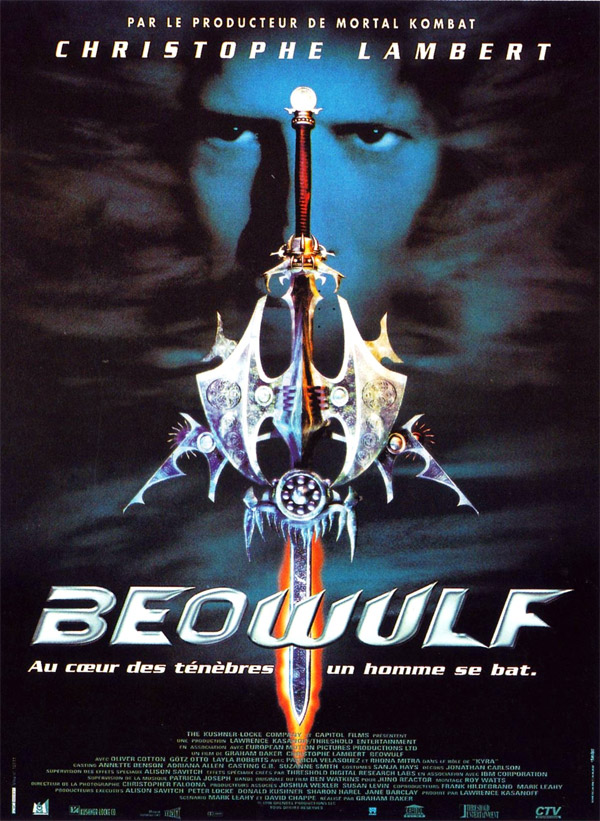 French poster from the movie Beowulf